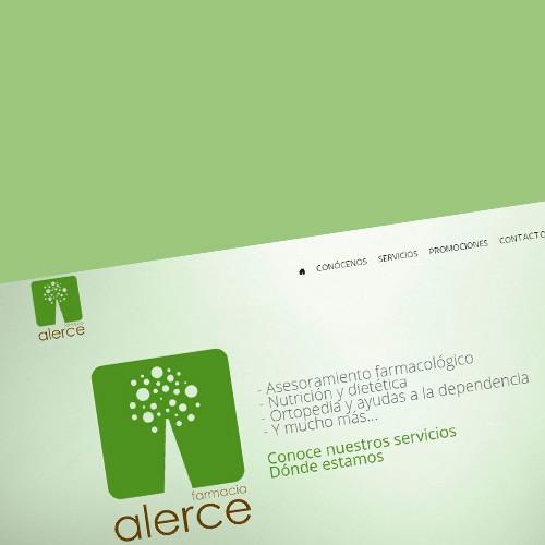 Nueva Web y Tienda Online de Farmacia Alerce
