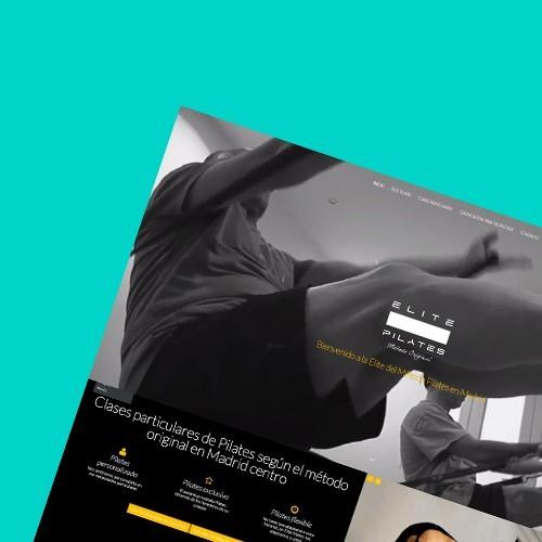 Nueva web de Élite Pilates