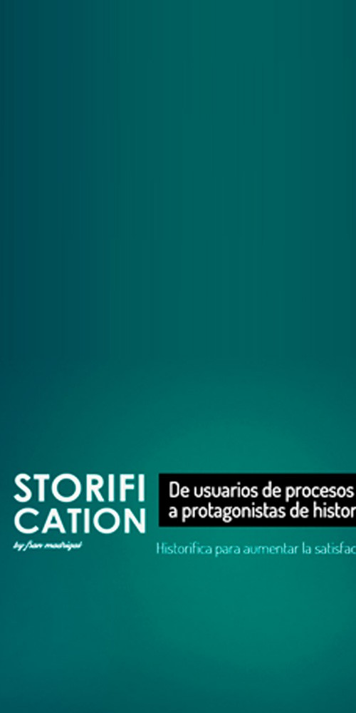 Storification Canvas – De usuarios de procesos a protagonistas de historias