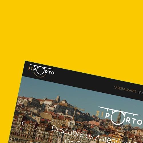 Nueva web y presencia online de 31Porto.pt