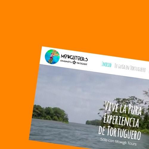 Identidad corporativa, desarrollo web y presencia online de Mowglitours