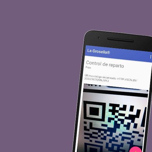 App de control de entregas y reconocimiento de códigos QR en android integrada con tienda online en wordpress
