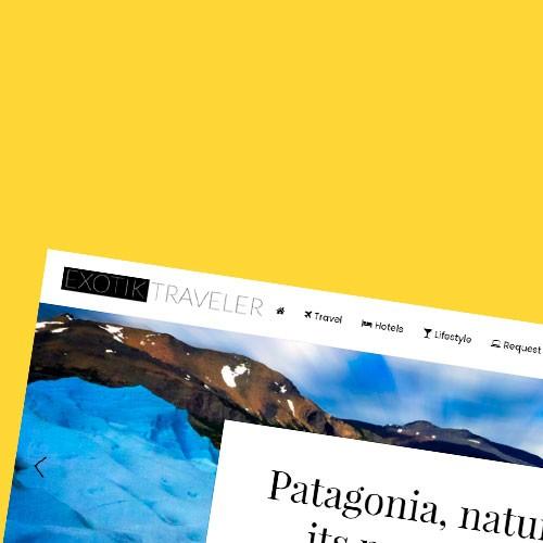 Diseño web de viajes de lujo con wordpress y optimizada SEO